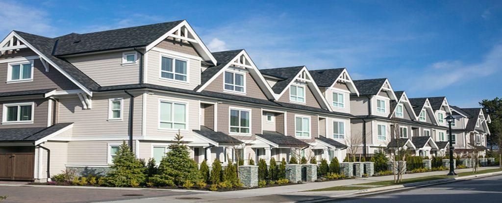Townhouses Siding Vancouve